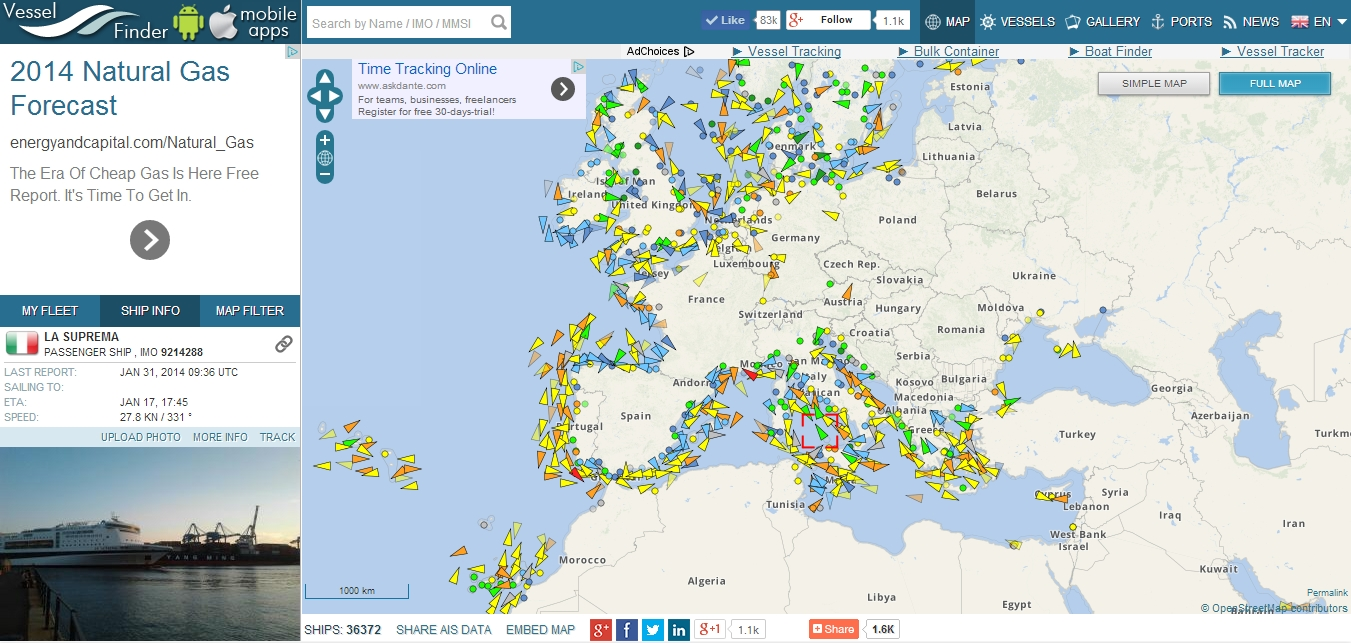 Vessel Finder - Ship and Container Tracking