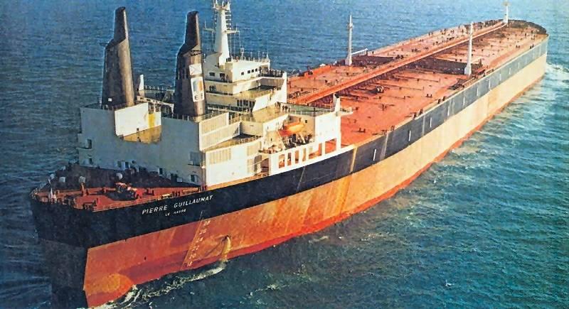 Pierre-Guillaumat Largest Ship