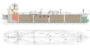 Prairial 5th Biggest Ship drawings
